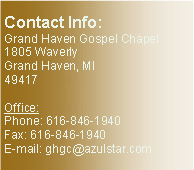 Text Box: Contact Info: